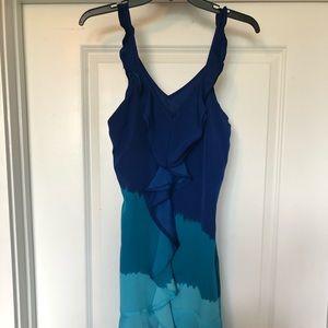 Women's Blue Ombré Dress